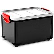 KIS Clipper Box M schwarz-grau Deckel 20l - Aufbewahrungsbox