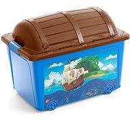 Aufbewahrungsbox für Spielzeug KIS W Piraten-Box - Bank