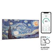 Klarstein Wonderwall Air Art Smart - Motiv: Sterne - Elektroheizung