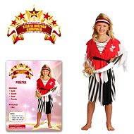 Karnevalskostüm - Piratin Größe S - Kinderkostüm
