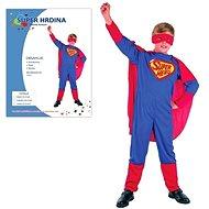 Karnevalskleid - Super-Held Größe M - Kinderkostüm