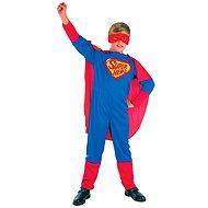 Šaty na karneval - Super hrdina vel. S - Kinderkostüm