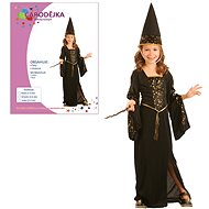 Šaty na karneval - Čarodějka vel. S - Kinderkostüm