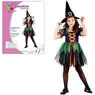 Karnevals-Kleid - Hexe Größe S - Kinderkostüm