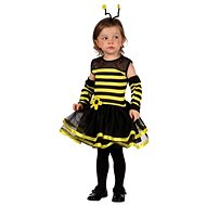 Šaty na karneval - Včelka vel. XS - Kinderkostüm
