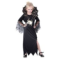 Karnevalskleid - Schwarze Witwe Größe M - Kinderkostüm