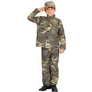 Karnevalskleid - Soldat Größe S - Kinderkostüm