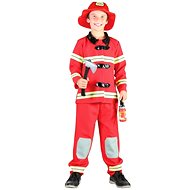 Karnevalskleid - Feuerwehrmann Größe: S - Kinderkostüm