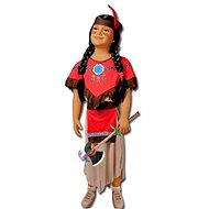 Karnevalskleid - Indianerin Größe S - Kinderkostüm
