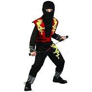 Karnevalskostüm für Kinder - Ninja Größe M - Kinderkostüm
