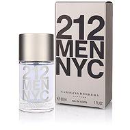 CAROLINA HERRERA 212 NYC Men EdT 30 ml - Herren Eau de Toilette