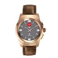 MyKronoz ZeTime Premium Pink Gold/Brown - 44 mm - Smartwatch