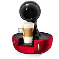 DROP® KRUPS - Automatik - ROT/SCHWARZ - Kapsel-Kaffeemaschine