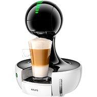 DROP® KRUPS - Automatik - WEISS/SCHWARZ - Kapsel-Kaffeemaschine