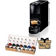 NESPRESSO Krups Essenza Mini XN1108, schwarz - Kapsel-Kaffeemaschine