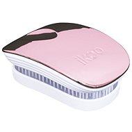 Haarbürste IKOO Pocket rose weiß - Haarbürste