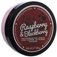 I LOVE… Nourishing Body Butter Raspberry & Blackberry 200 ml - Körperbutter