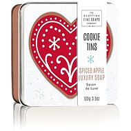 Seife SCOTTISH FINE SOAPS Weihnachtsseife in einer Blechdose Äpfel & Gewürze 100 g - Seife