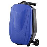 Roller-Gepäck-Koffer BLAU - Tretroller klappbar