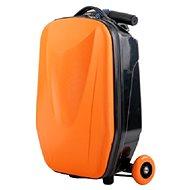 Roller-Gepäck-Koffer ORANGE - Tretroller klappbar