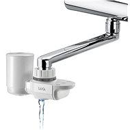 Laica Tap Filter VENEZIA + HYDROSMART Filter + Edelstahlflasche 0,5 Liter - Wasserfilter