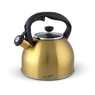 LAMART LT7057 EDELSTAHL TEEKESSEL 2,5 Liter - gold - Wasserkocher