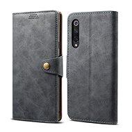 Lenuo Leather für Xiaomi Mi 9 SE, Grau - Handyhülle