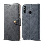 Lenuo Leather für Honor 10 lite, grau - Handyhülle