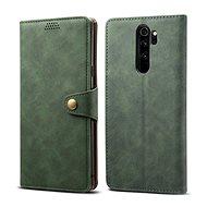 Lenuo Leather für Xiaomi Redmi Note 8 Pro, Grün - Handyhülle