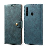 Lenuo Leather for Honor 9X, blau - Handyhülle