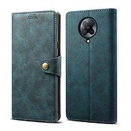 Lenuo Leder-Handyhülle für Xiaomi Poco F2 Pro, blau - Handyhülle