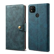 Handyhülle Lenuo Leder-Handyhülle für Xiaomi Redmi 9C, blau - Pouzdro na mobil