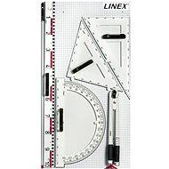 Linex BBM-S Set mit 6 magnetischen Zeichengeräten für das Whiteboard - Lineal