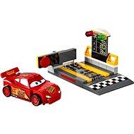 LEGO Juniors 10730 Lightning McQueens Beschleunigungsrampe - Baukasten