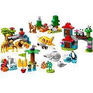 LEGO DUPLO Town 10907 Tiere der Welt - Bausatz