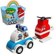 LEGO® DUPLO® Creative Play 10957 Mein erster Feuerwehrhubschrauber und mein erstes Polizeiauto - LEGO-Bausatz