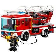 LEGO City 60107 Feuerwehrfahrzeug mit fahrbarer Leiter - Baukasten