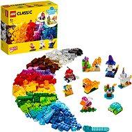 LEGO Classic 11013 Kreativ-Bauset mit durchsichtigen Steinen - LEGO-Bausatz