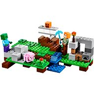 LEGO Minecraft 21123 Der Eisengolem - Baukasten