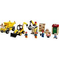LEGO Juniors 10734 Große Baustelle - Baukasten