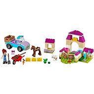 LEGO Juniors 10746 Mias Pferdestall-Koffer - Baukasten