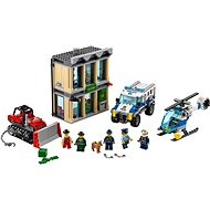 LEGO City 60140 Bankraub mit Planierraupe - Baukasten