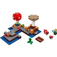 LEGO Minecraft 21129 Die Pilzinsel - Baukasten