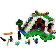 LEGO Minecraft 21134 Unterschlupf im Wasserfall - Baukasten