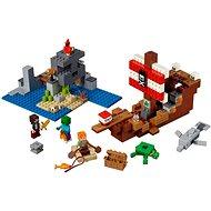 LEGO Minecraft 21152 Das Piratenschiff-Abenteuer - Bausatz