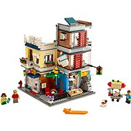 LEGO Creator 31097 Stadthaus mit Zoohandlung & Café