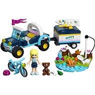 LEGO Friends 41364 Stephanies Cabrio mit Anhänger - Baukasten