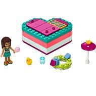 LEGO Friends 41384 Andreas sommerliche Herzbox - Baukasten