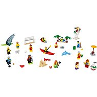 LEGO City 60153 Stadtbewohner – Ein Tag am Strand - Baukasten