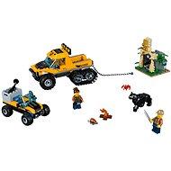 LEGO City 60159 Mission mit dem Dschungel-Halbkettenfahrzeug - Baukasten